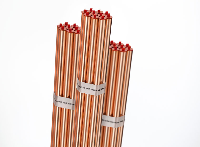Medical gas copper tube