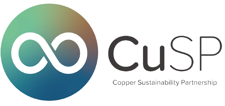 CUSP: Copper Sustainability Partnership Logo and Link